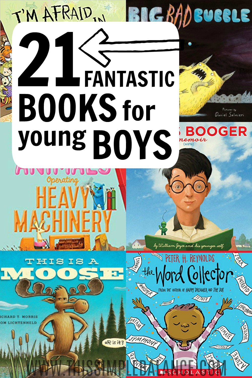 Books for boys (ages 4-6, ages 6-8): a hilarious and engaging book list perfect for young boys (though all kids - boys and girls - will probably enjoy them!)
