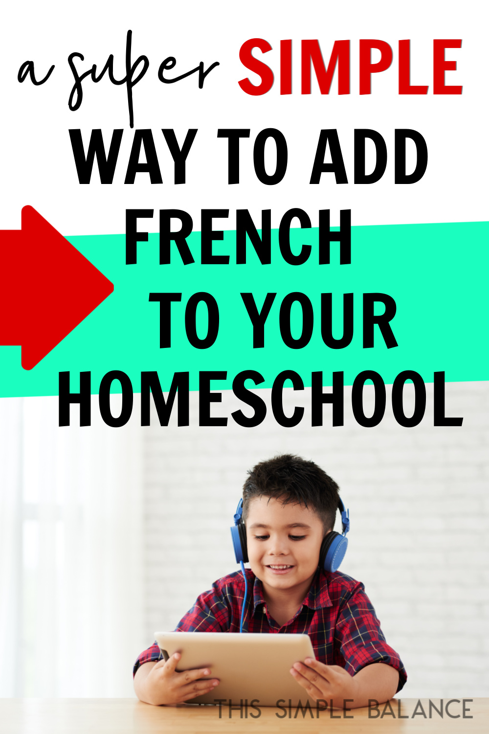 Homeschool French: Do you want to teach French, but need a ridiculously simple program to make it happen? We did, too.
