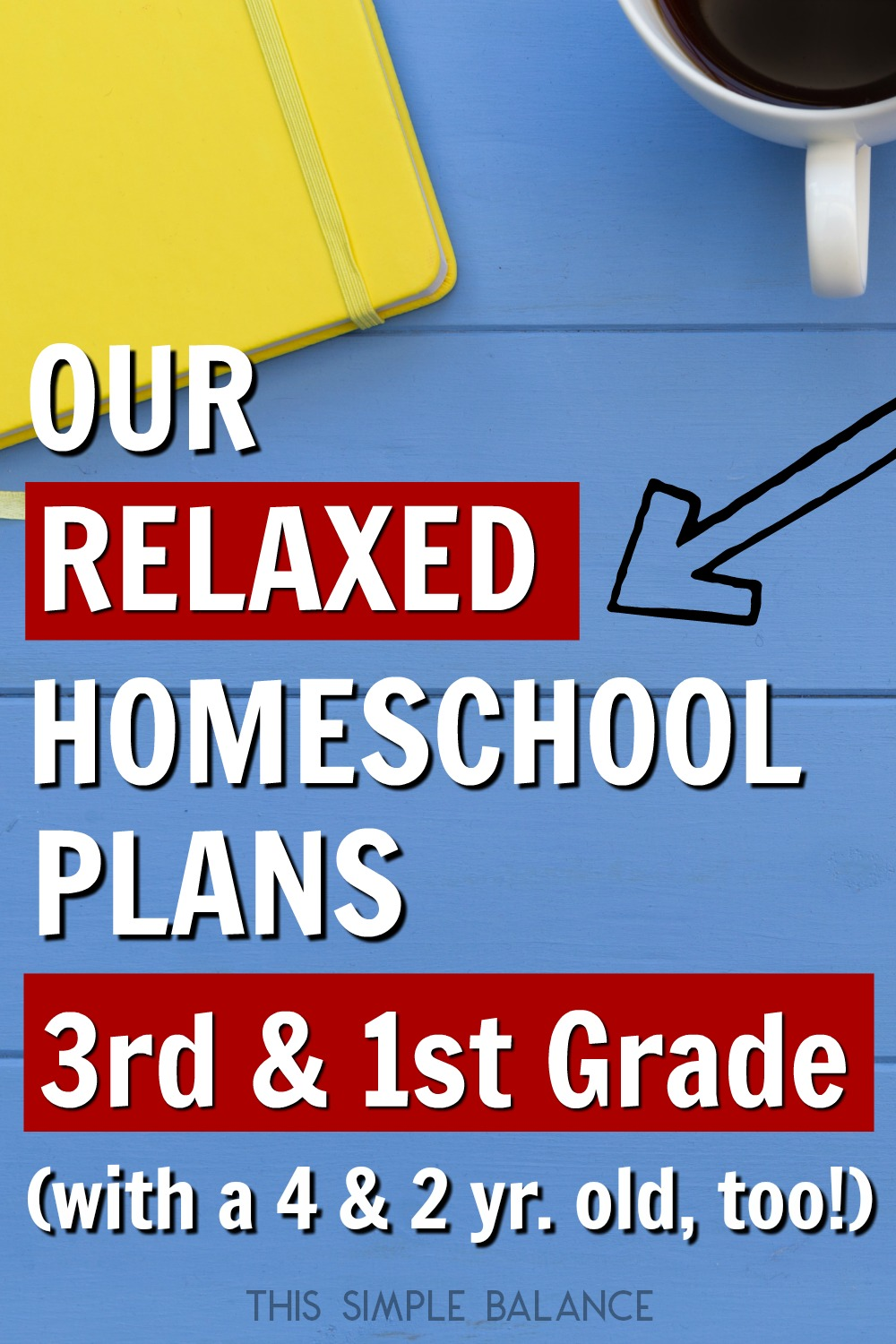 Are you going to homeschool 3rd grade or 1st grade this year? Get relaxed homeschooling ideas from the curriculum and resources we are using this year!