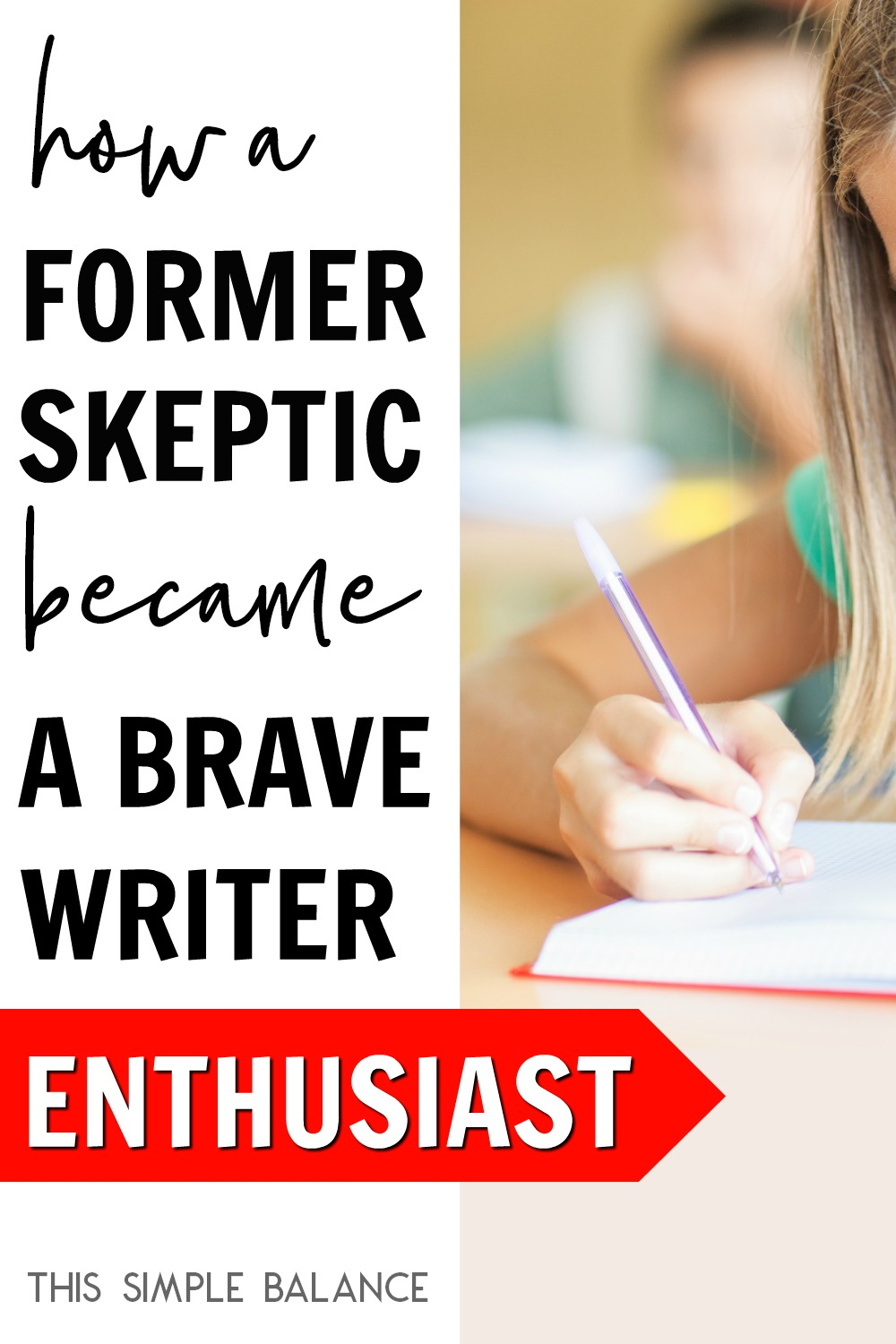 A Brave Writer Review: Why a former skeptic now RAVES about this unconventional homeschool language arts curriculum.
