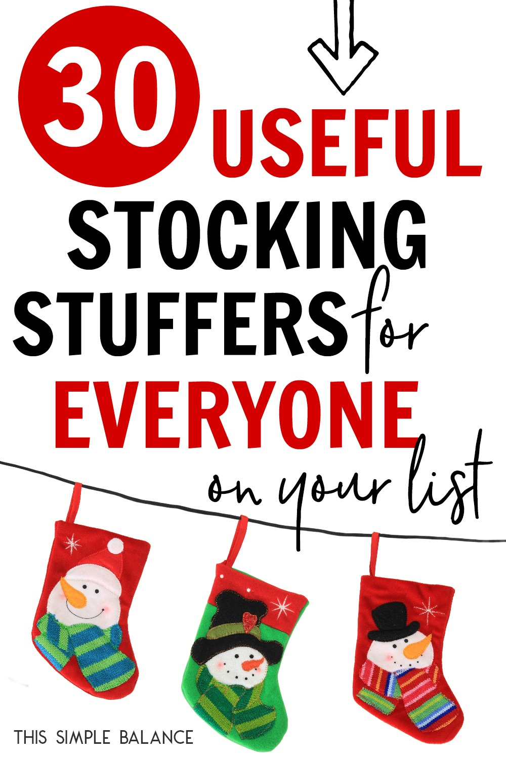 30+ Useful Stocking Stuffers: Ideas for Kids, Mom & Dad