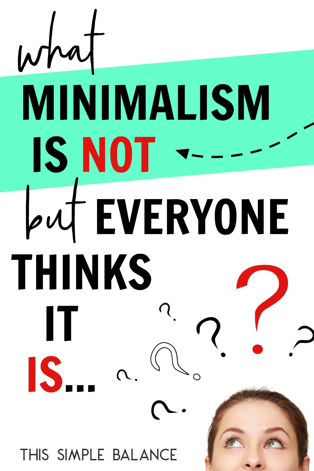 What is minimalism, anyways? There are SO many misconceptions out there about minimalism. Don't let these misconceptions hold you back from experiencing minimalism's benefits!
