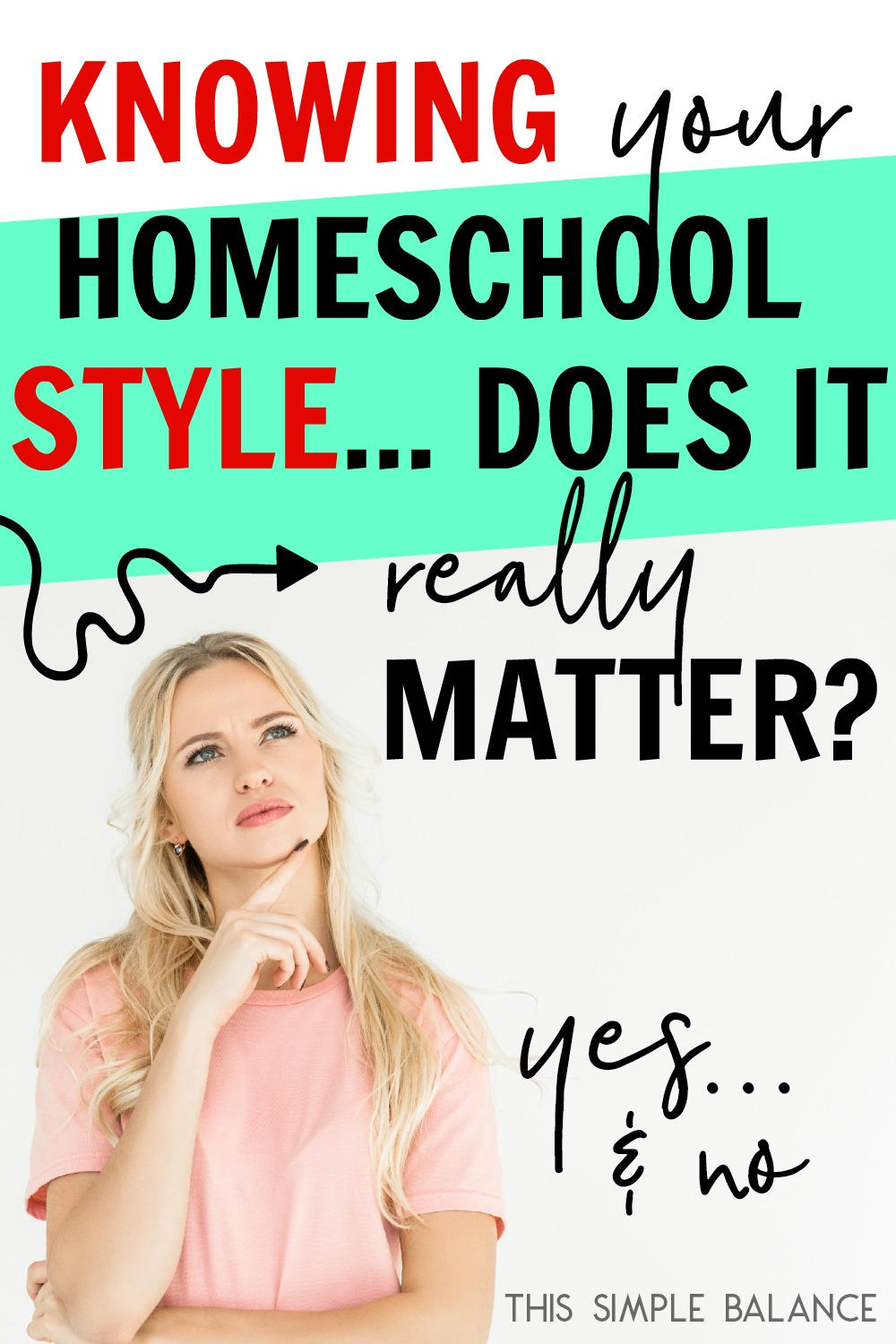 Homeschool Styles: Do they really even matter? What's the point of knowing your homeschool style at all? Does knowing help you in ANY way?