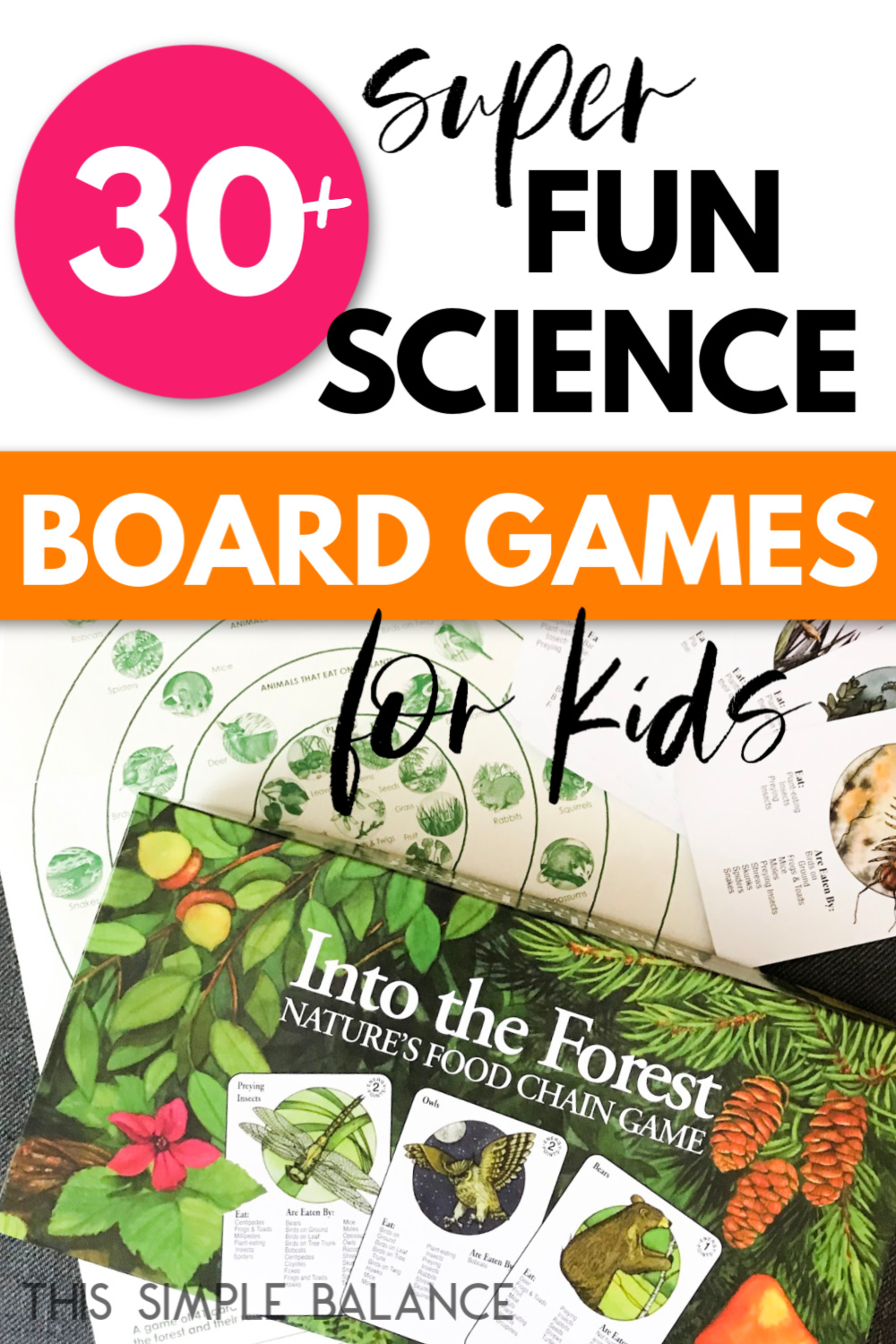science board game, science card game