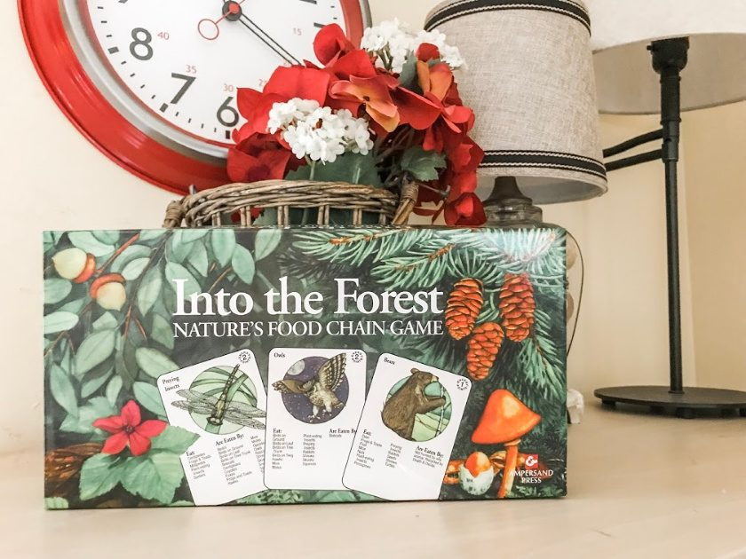 science board game - into the forest