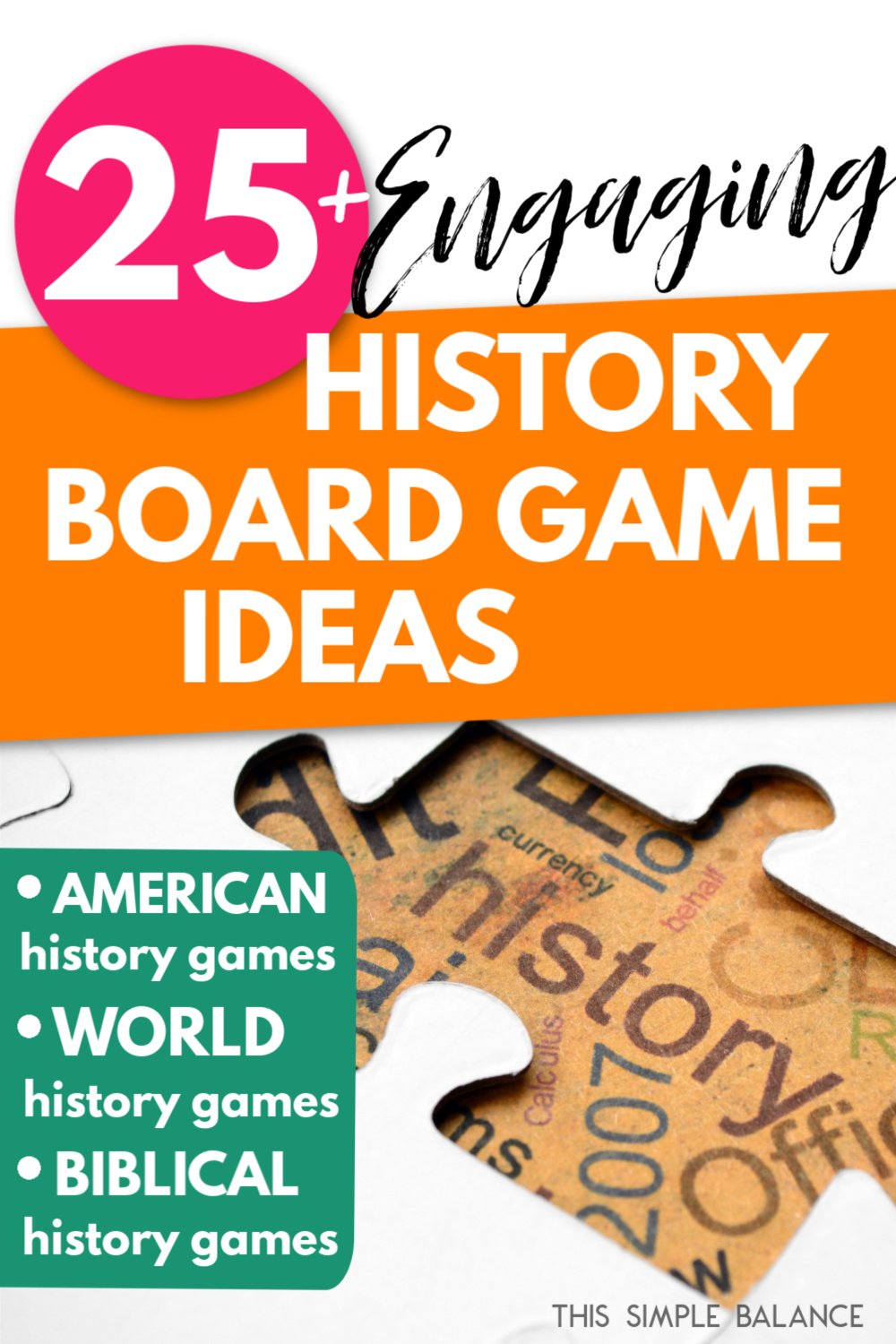 history games kids